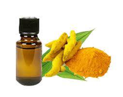 L'huile essentielle de curcuma.
