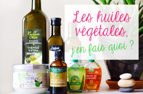 Trois huiles végétales indispensables pour l'été!